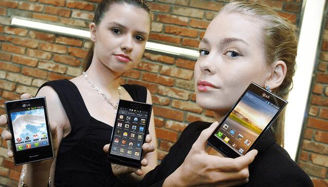 LG présente sa nouvelle ligne de smartphones pour Android: L-Style