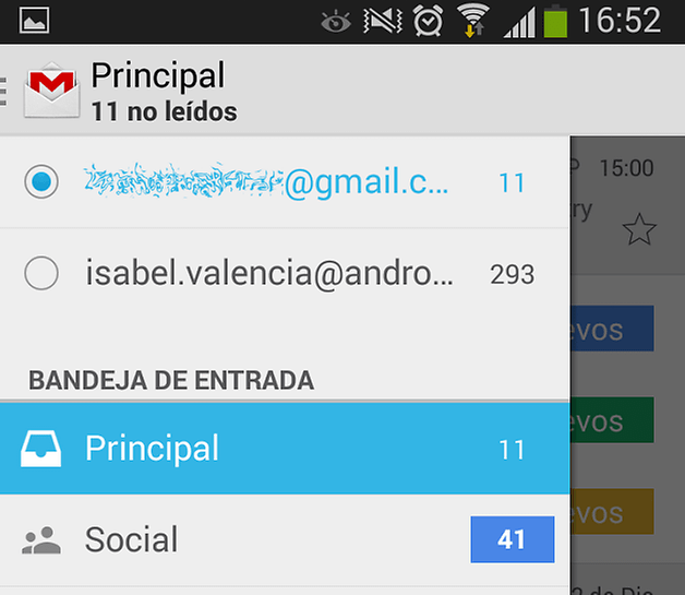 cuentas android 3