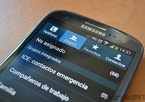 Cómo gestionar grupos de contactos en el Samsung Galaxy S4