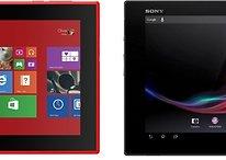Nokia Lumia 2520 vs. Sony Xperia Tablet Z - Comparación de dos grandes