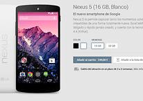Comprar el Nexus 5 - Los problemas de stock son cosa del pasado