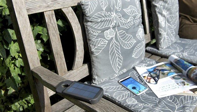 Xtorm - Batería solar de 3000 mAh para el Samsung Galaxy S4