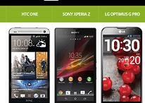 HTC One, Xperia Z y LG Optimus G Pro - El nuevo ejército Android