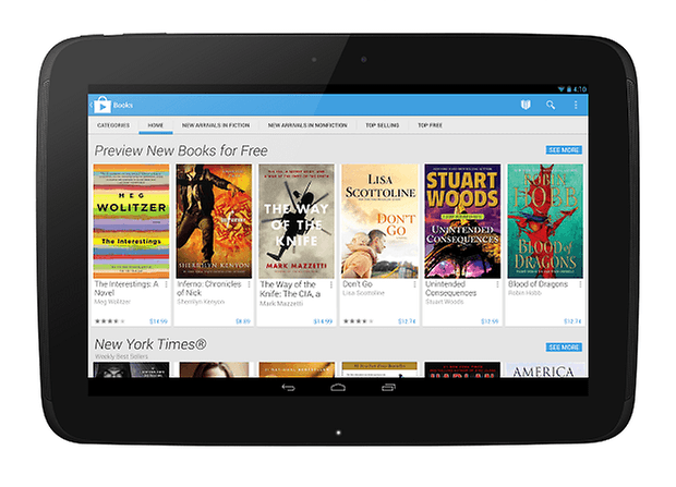 Play Books Home Tablet
