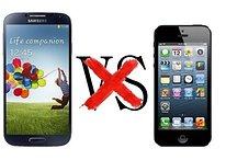 No, no voy a comparar el Samsung Galaxy S4 con el iPhone 5