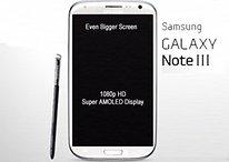 Samsung Galaxy Note 3 - En 2013 con pantalla Super AMOLED HD (Rumor)
