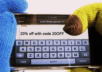 Utiliser un écran tactile en hiver: enfilez vos gants