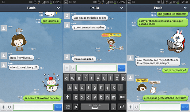 line para android 2