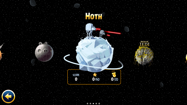 angry birds star wars nivel hoth
