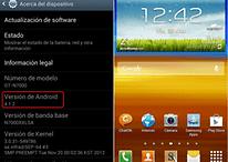 Actualización oficial de Android 4.1.2 para el Samsung Galaxy Note