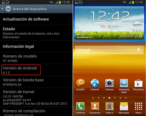 android 4.1.2 galaxy note