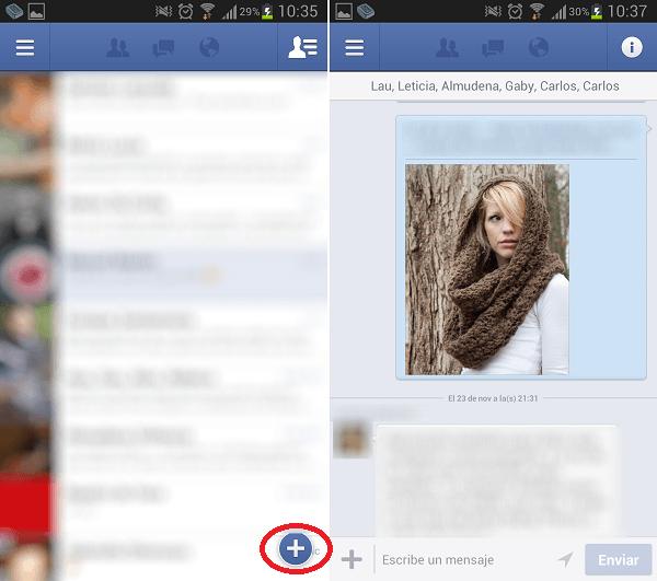 facebook para android nativo 2