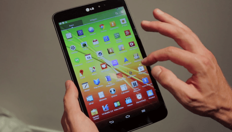 LG G Pad -  Vídeo del nuevo tablet