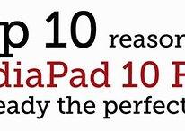 Huawei présente sa tablette parfaite: la MediaPad 10 FHD