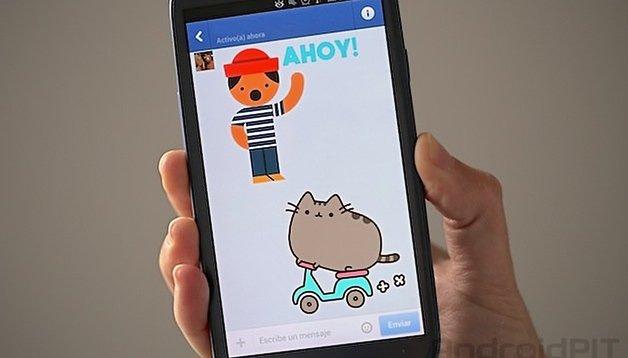 Actualización de Facebook - ¡Ahora con stickers animados! (o no...)