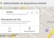 Android Device Manager - El soporte web ha llegado