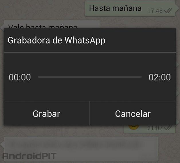 whatsapp grabadora 1