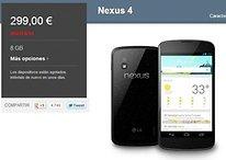¡Nexus 4 agotado! - El desastre se hace oficial