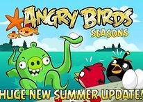 Angry Birds Piglantis: nouvelle mise à jour les pieds dans l'eau!