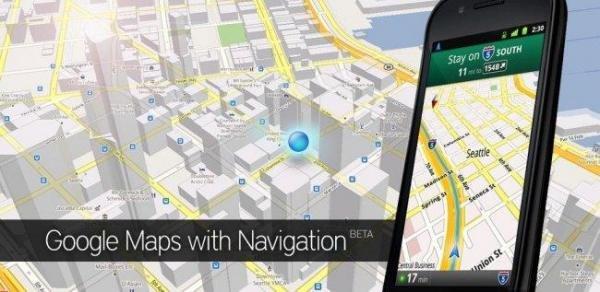 Actualizacion Google Maps Android Market