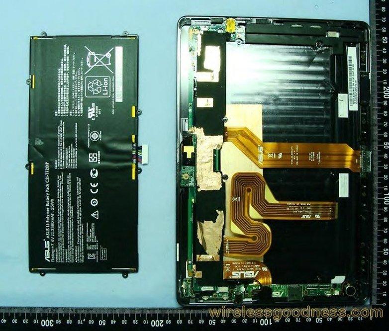 Asus Transformer Prime prueba FCC 4