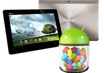 Android 4.1 Jelly Bean llega al Asus Transformer Prime y Pad Infinity