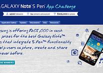 S-Pen del Galaxy Note - Aplicaciones ganadoras