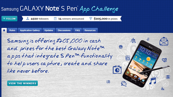 aplicaciones para S-Pen Galaxy Note
