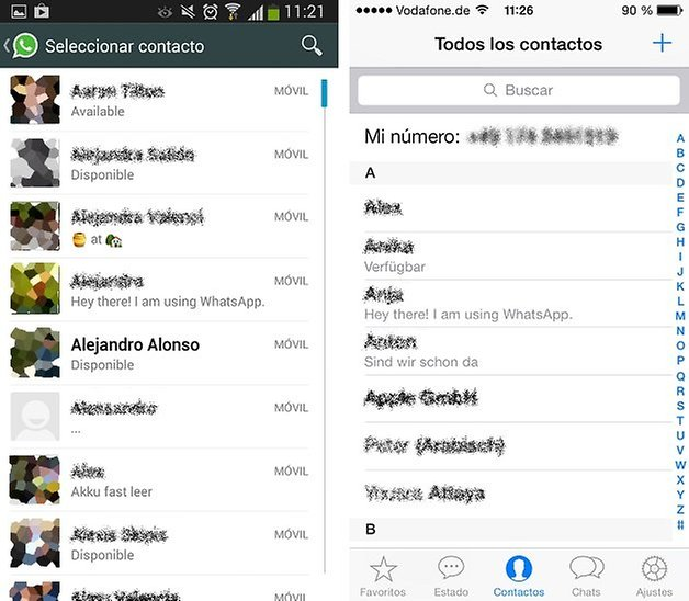 ios android whatsapp 3
