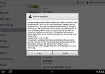 Samsung Galaxy Note 10.1 se actualiza a Android 4.1.2 en EE.UU