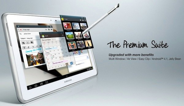 samsung galaxy note 10.1 premium suite