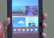 El vídeo más largo y con más detalles del Samsung Galaxy Tab 7.0