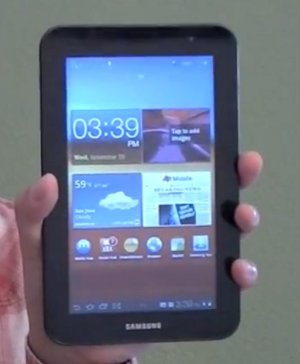 Vídeo detalles Galaxy Tab 7.0