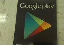 ¡Tarjetas regalo de Google Play! - ¿Las queréis ver?