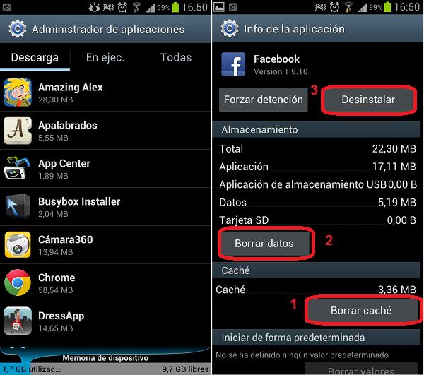 instalar desinstalar aplicaciones android 2