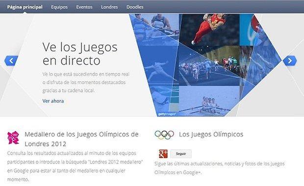 juegos olimpicos 2012 google