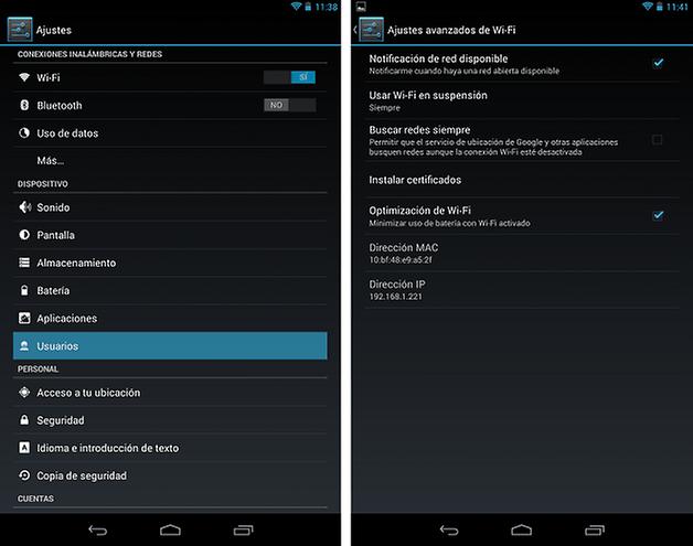 Android 4 3 nexus 7 3