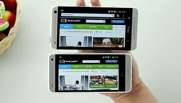 ¡Hands-On del HTC One Mini en vídeo!