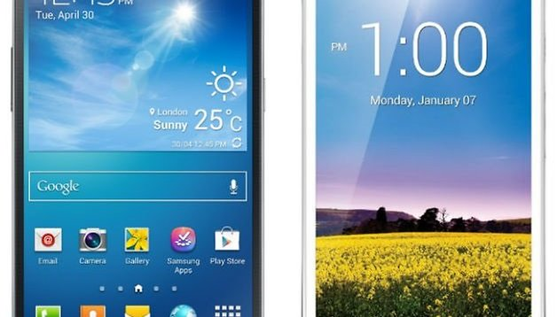 Comparación: Samsung Galaxy Mega 6.3 vs Huawei Ascend Mate
