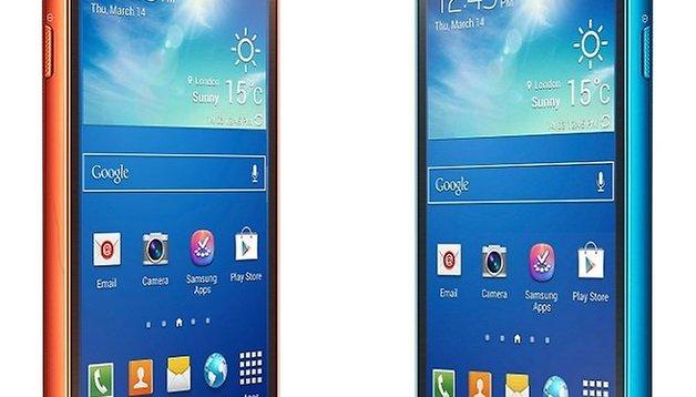 Samsung Galaxy S4 Active estrena color: Azul ártico