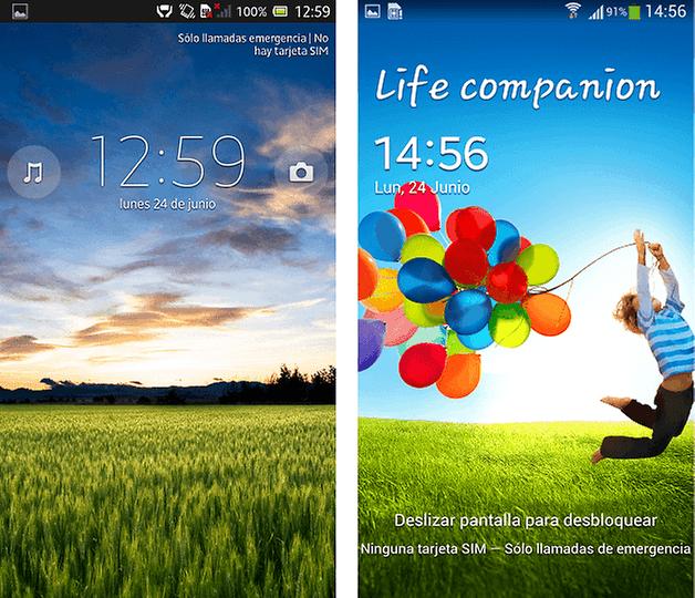 Xperia UI Touchwiz 2
