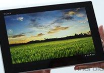 El Sony Xperia Tablet Z se luce bajo nuestra cámara - Vídeo Hands-on