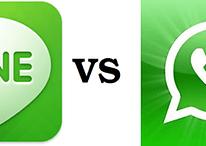 Line vs Whatsapp - La lucha por los mensajes gratis