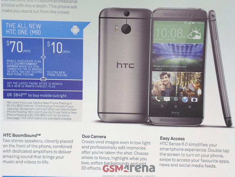 htc one 2 m8 duo camera