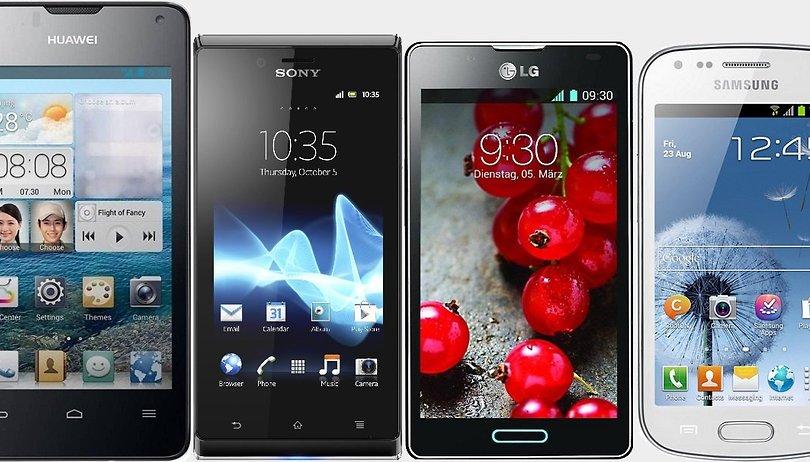 Comparación - Ascend G510 vs. Galaxy Trend vs. Xperia J vs. LG L7 II