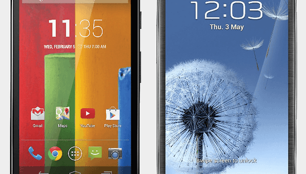 Moto G vs Galaxy S3: Generation smackdown of trailblazers in mobility