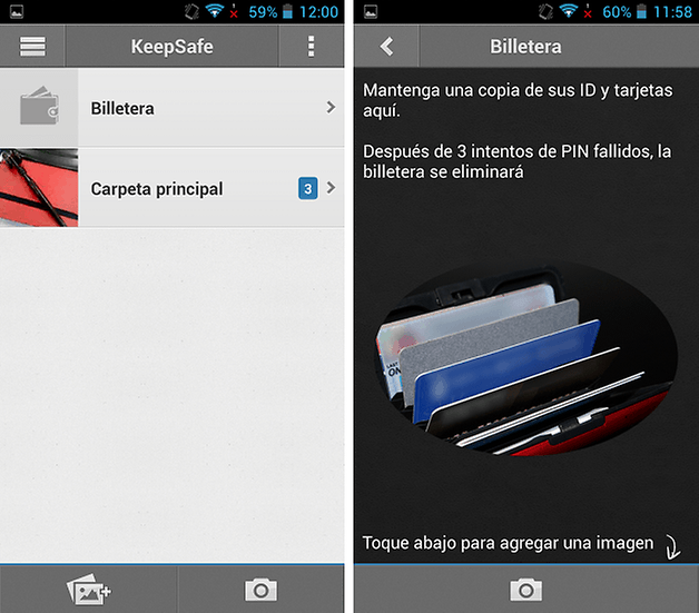 oculte imagenes keepsafe 3