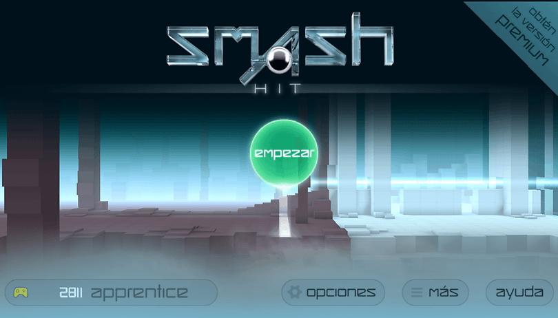 Smash Hit - Un juego ideal para desahogarse rompiendo cristales