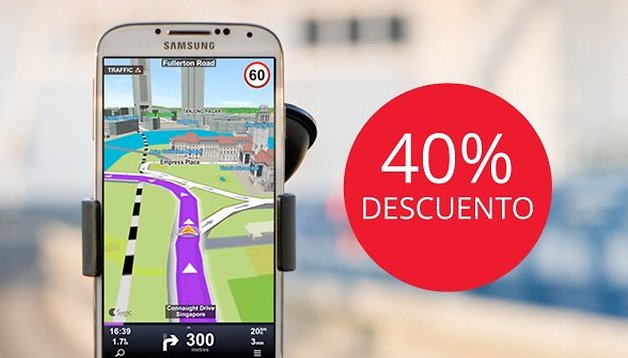 Descuento del 40% en Sygic GPS Navigation para lectores de AndroidPIT