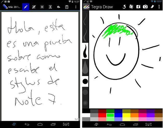 latest samsung tablet with stylus write on pdf files